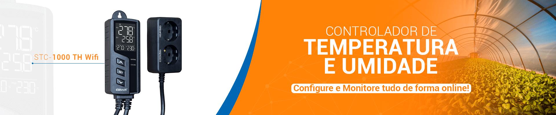 STC-1000 TH WIFI Controlador de temperatura e umidade 220V