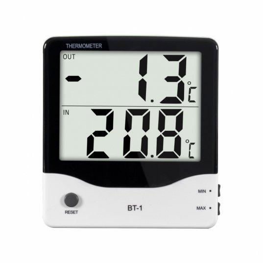 Termômetro digital de temperatura máx e min (-50 a 70°C) Mod. BT-1 Elitech Brasil
