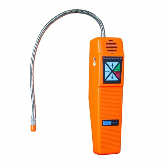 Detector de fuga de gás 7 níveis de regulagem sensibilidade máx 3g/ano Mod. CPU-C  Elitech Brasil
