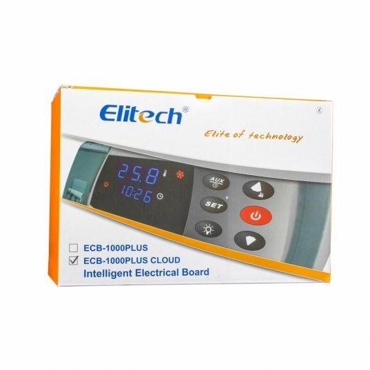 Quadro de comando para câmaras frias monofásicas de congelados ou resfriados Mod. ECB-1000PLUS 220V até 3HP Elitech Brasil
