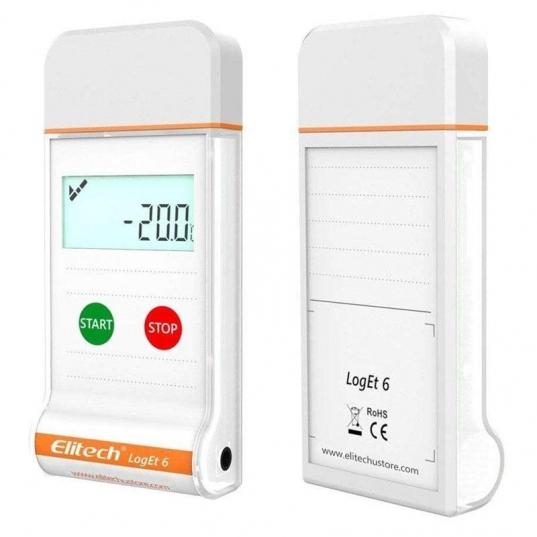 Datalogger temperatura descartável modelo LogEt6 Elitech Brasil Diagonal