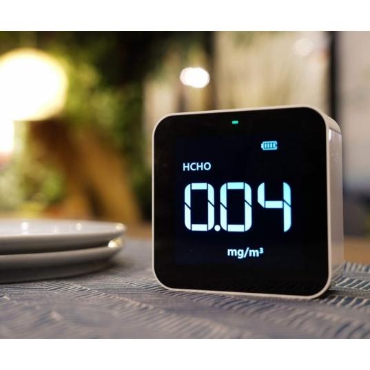 Detector de qualidade de ar (HCHO / PM2,5 / TVOC / AQI) Mod. M10 Elitech Brasil Ambientada