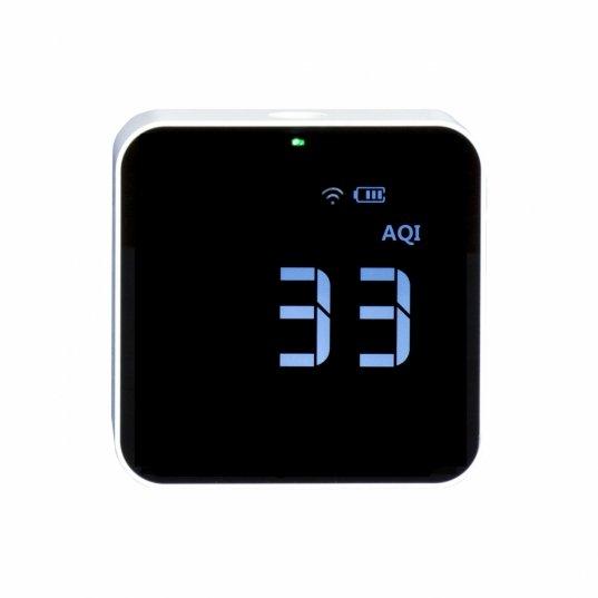 Detector de qualidade de ar Wifi (HCHO / PM2,5 / TVOC / AQI) Mod. M10i wifi Elitech Brasil