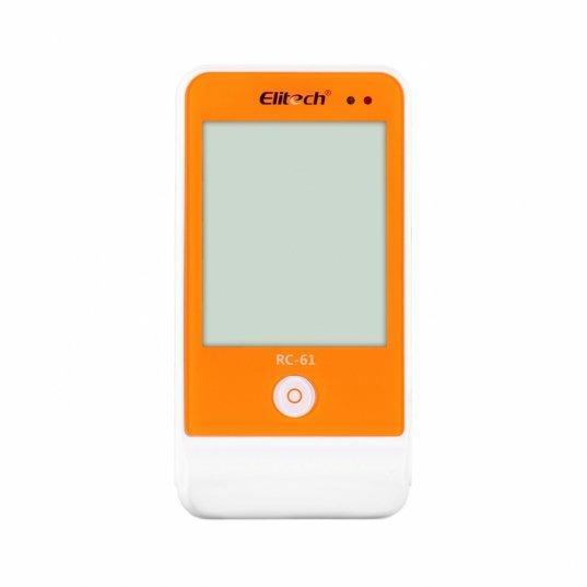 Datalogger temperatura e umidade -40 a 85°C / 10-99%UR, conexão cabo USB 16000 leituras, sensores externos Mod. RC-61 Elitech Brasil