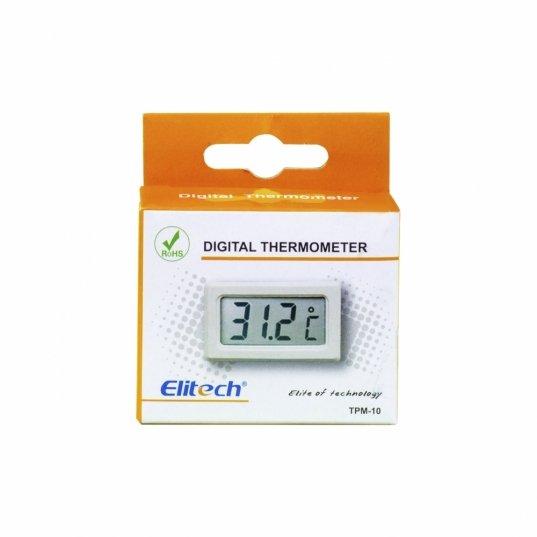 Termômetro digital -50°C a 80°C Preto Mod. TPM-10 Elitech Brasil