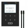 Datalogger de temperatura (2 sensores de temperatura) -40 A 80°C. Sem fio, conexão Wifi 20.000 leituras Mod. RCW-600wifi Elitech Brasil Frontal